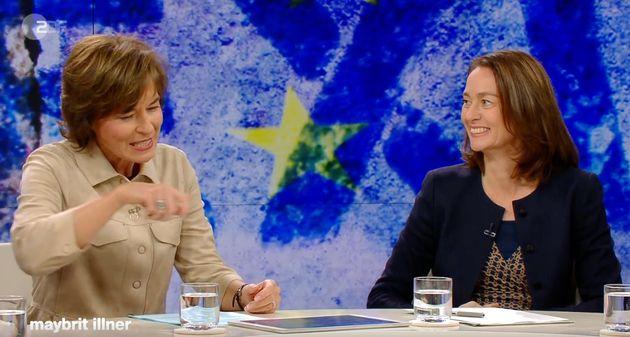 Maybrit Illner fragt Justizministern Katarina Barley (SPD), ob sie die Brexit-Erklärung unterschrieben hätte.