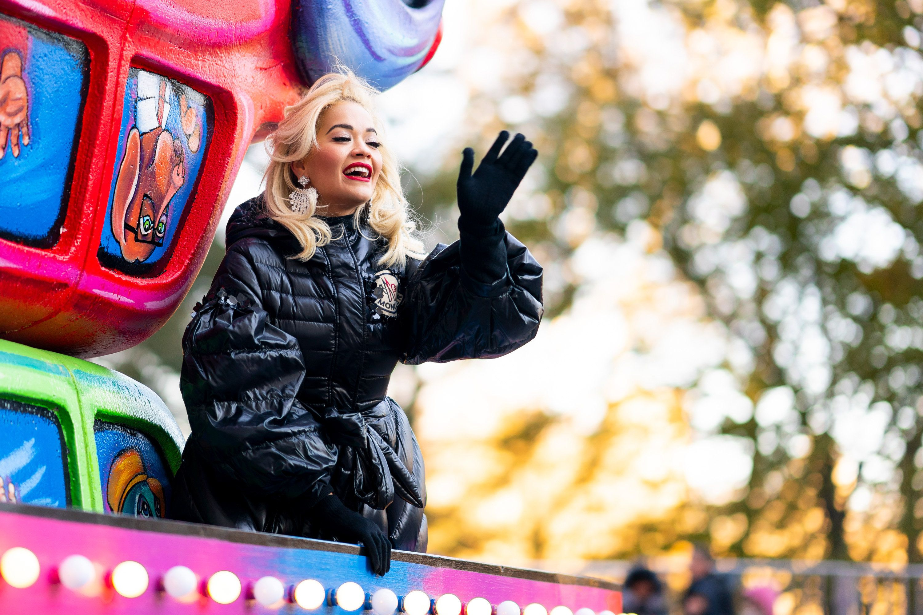 Rita Ora Suffers Thanksgiving Parade Lip-Sync Fail, But Insists There Wasn't Technology To Sing