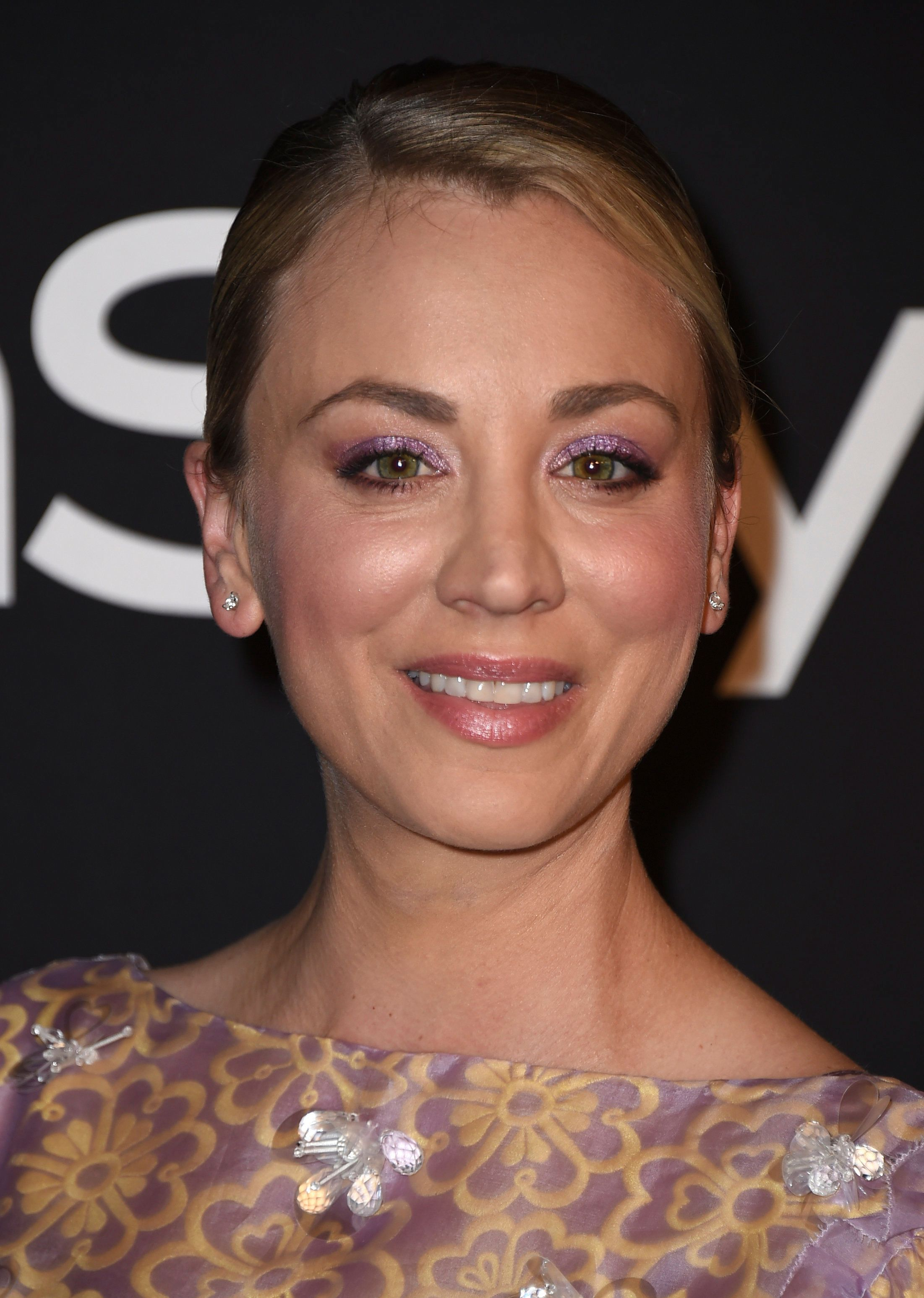 Kaley Cuoco arrives at the fourth annual InStyle Awards at The Getty Center on Monday, Oct. 22, 2018 in Los Angeles. (Photo by Jordan Strauss/Invision/AP)