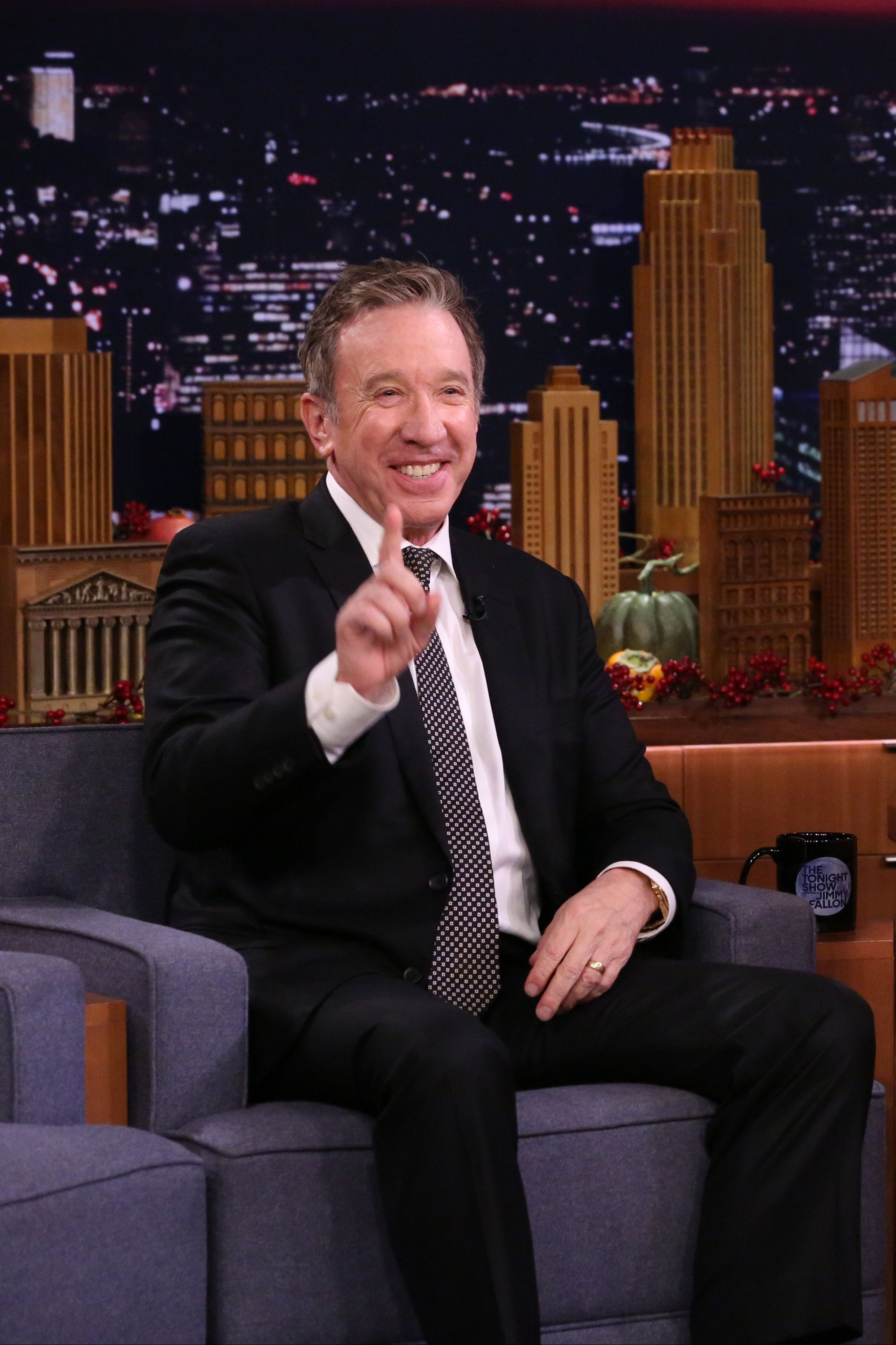 THE TONIGHT SHOW STARRING JIMMY FALLON -- Episode 0966 -- Pictured: Actor Tim Allen during an interview on November 21, 2018 -- (Photo by: Andrew Lipovsky/NBC/NBCU Photo Bank via Getty Images)