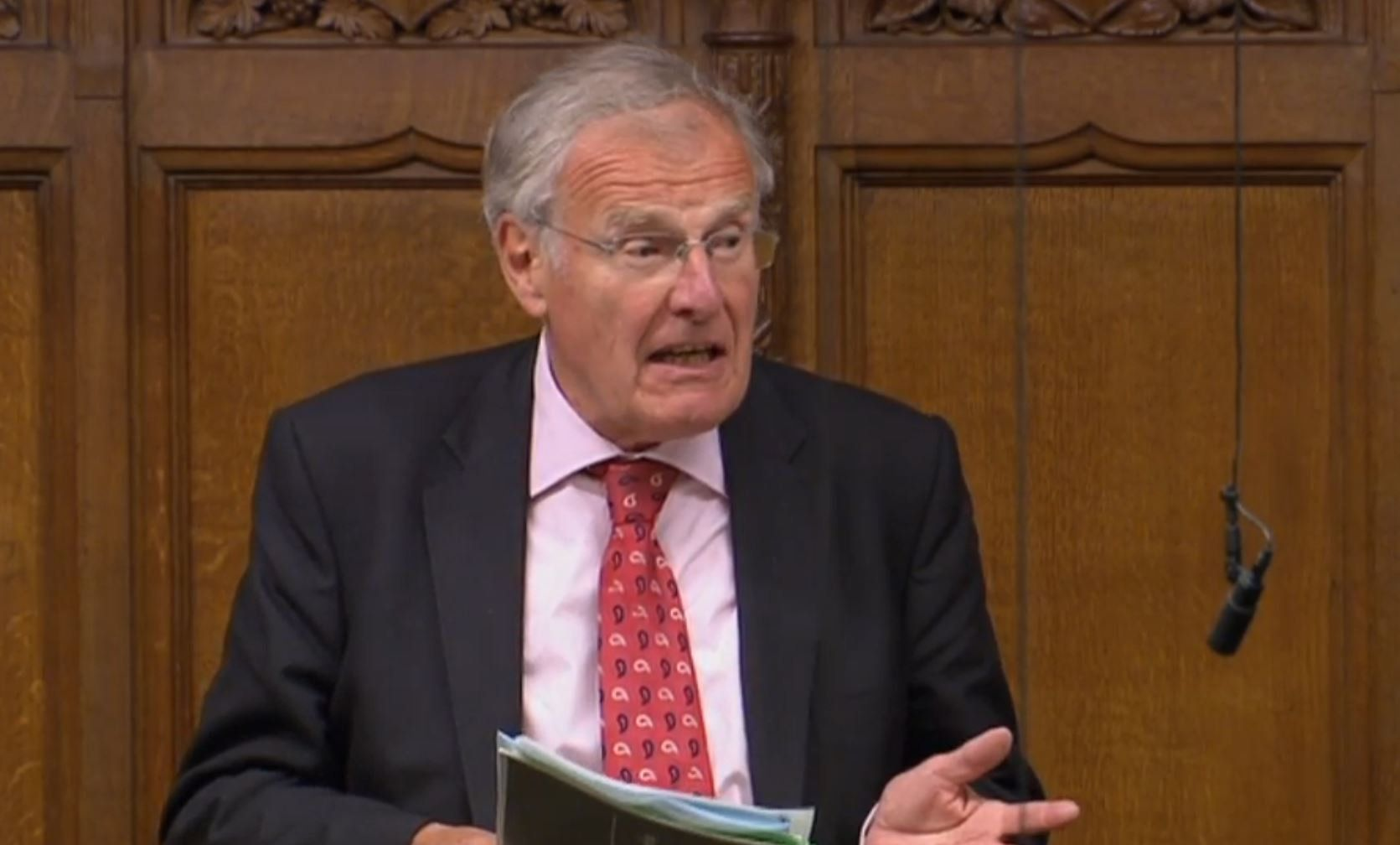 Christopher Chope Blocks FGM Bill By Shouting 'Object' In The House Of Commons