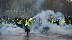 La manifestation des Gilets jaunes à Paris