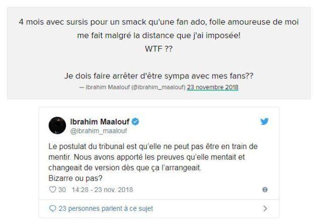 Ibrahim Maalouf très offensif après sa condamnation pour agression