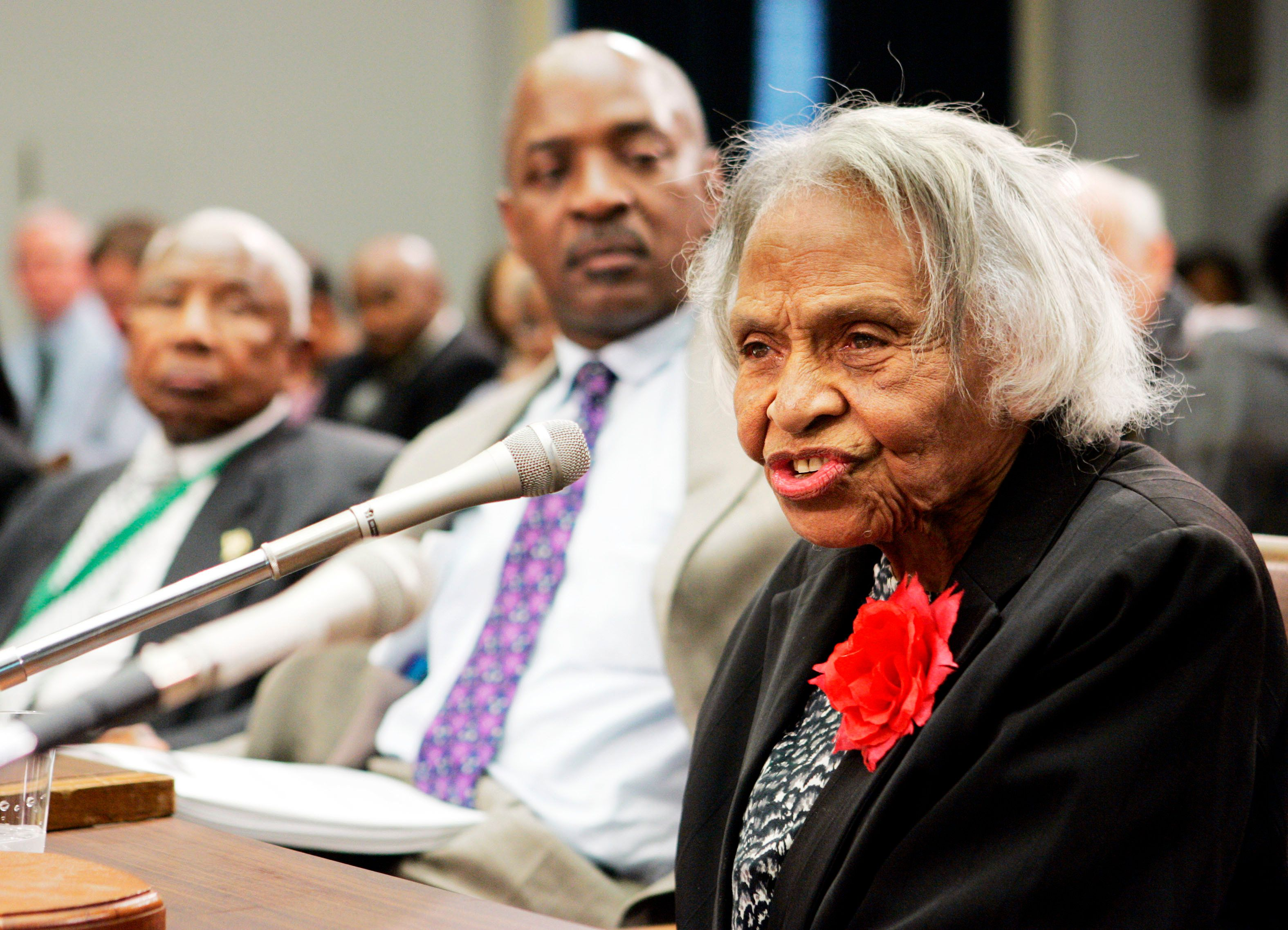Olivia Hooker, one of the last survivors of the 1921 Tulsa race riots, has died at the age of 103.