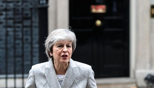 Brexit: Wie Theresa May ihre bisher gefährlichste Woche