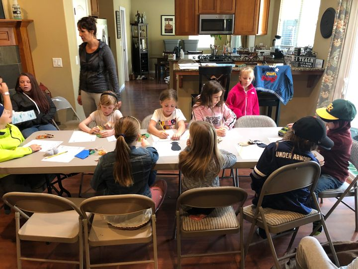 Teacher Annie Finney created a makeshift school at her home after part of her school burned down in Camp Fire.