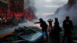 Les images des heurts entre gilets jaunes et police sur les