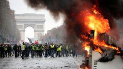 France: L'acte 2 des gilets jaunes éclipsé par le chaos sur les