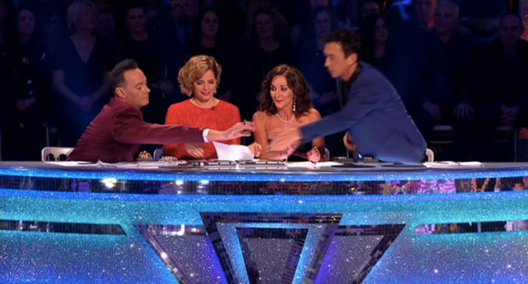 'Strictly' Judge Shirley Ballas Caught Up In Chaotic Moment After Technical