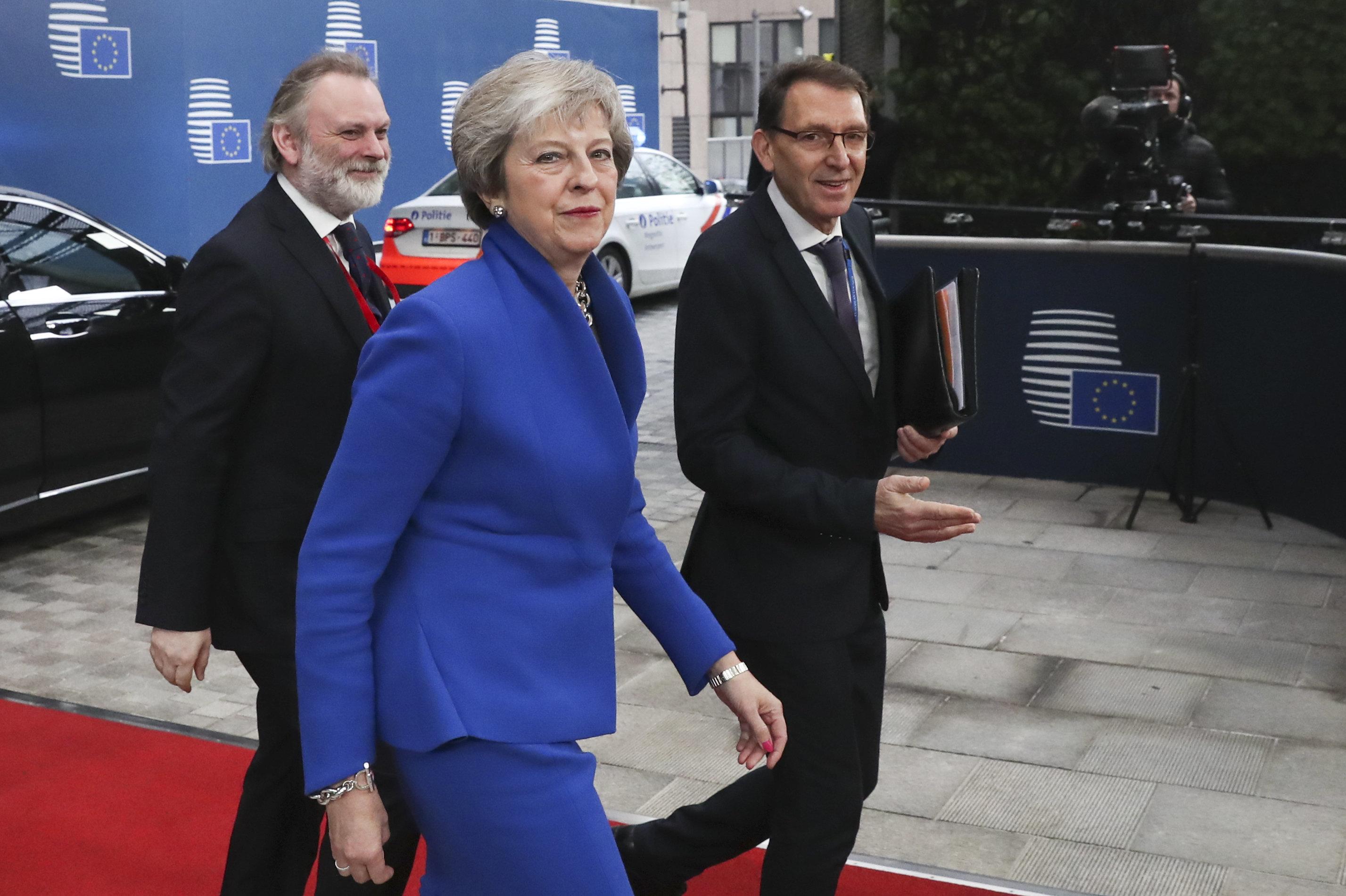 EU 지도자들이 '브렉시트 합의문'에