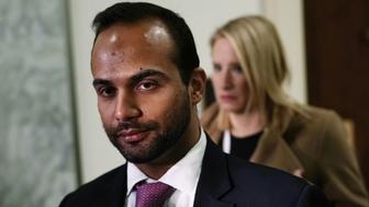 WASHINGTON, DC - OCTOBER 25:  Former Trump campaign adviser George Papadopoulos arrives at a closed-door hearing before the House Judiciary and Oversight Committee October 25, 2018 at Rayburn House Office Building on Capitol in Washington, DC. Papadopoulos, who pledged guilty for lying to investigators in the special counsel Robert Mueller probe, made his first appearance before the congressional panel.  (Photo by Alex Wong/Getty Images)