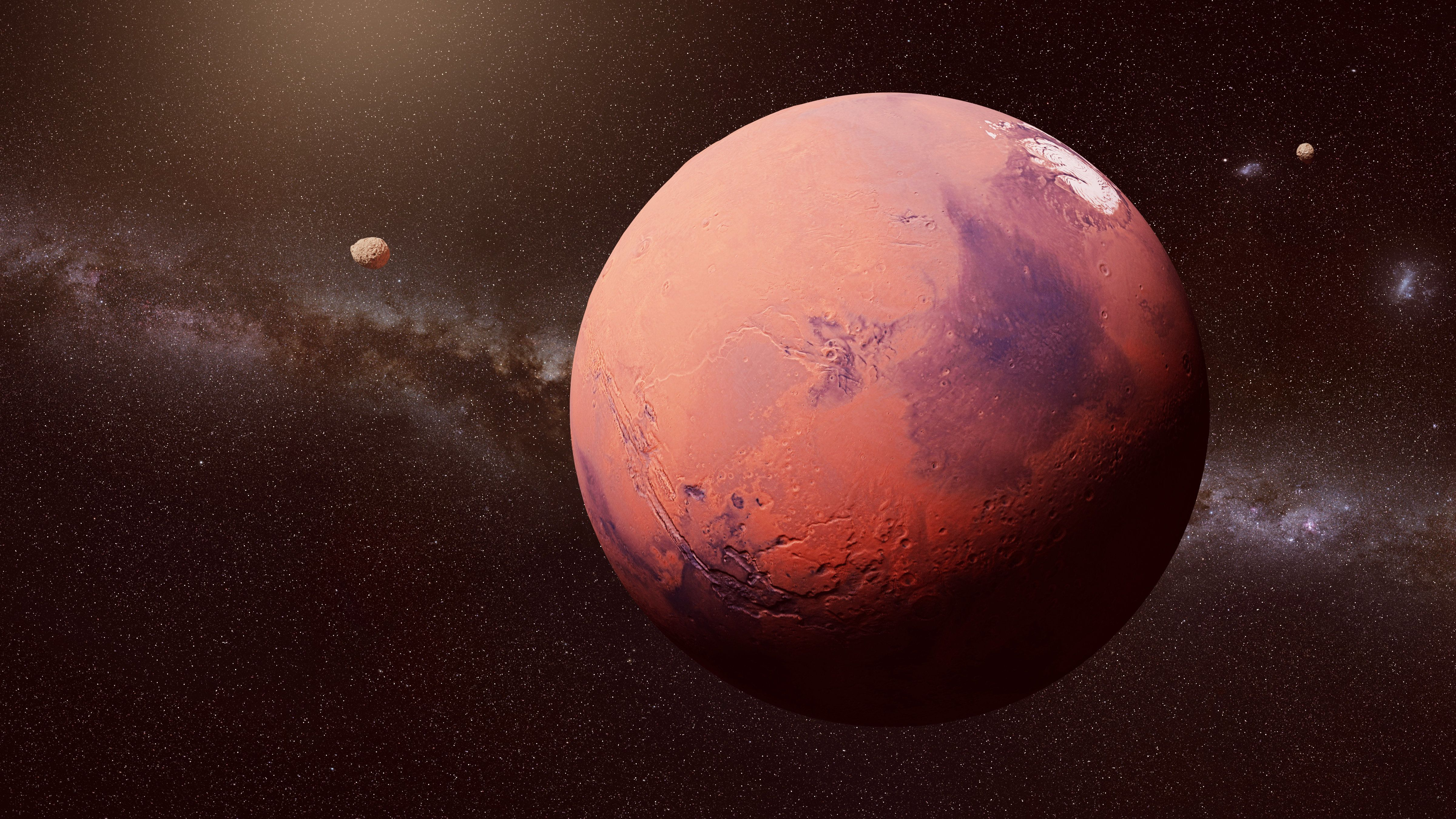NASA Looking Toward Manned Mission To Mars 'Sometime In The