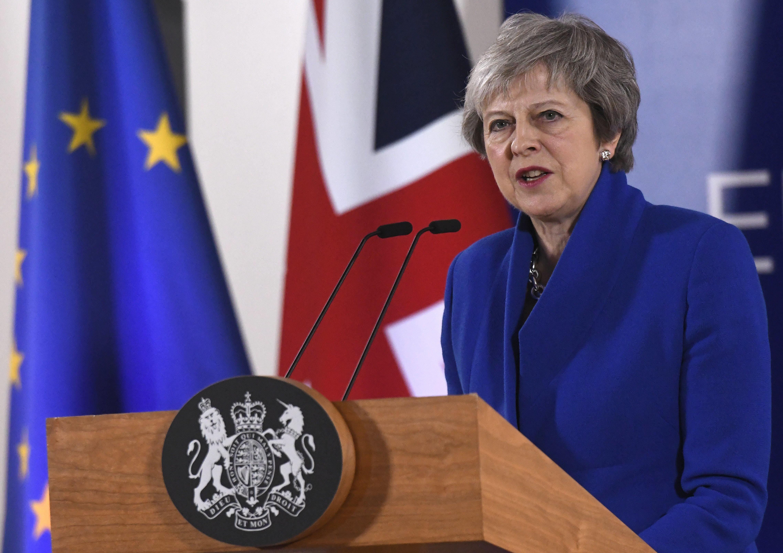 테레사 메이 영국 총리가 브렉시트 합의안 의회 통과를