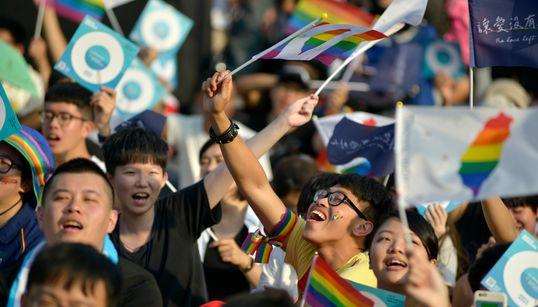 대만 국민투표에서 '동성결혼 허용 반대' 결과가