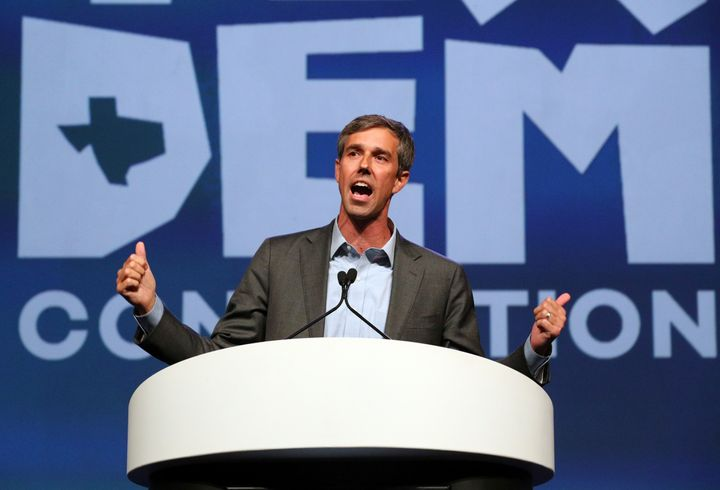 Congressman Beto O'Rourke of Texas should be included in the list of plausible Democratic candidates after his close Senate r