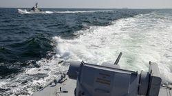 Πυρά από ρωσικά πλοία κατά ουκρανικών στη Μαύρη Θάλασσα - διάταγμα Ποροσένκο για στρατιωτικό