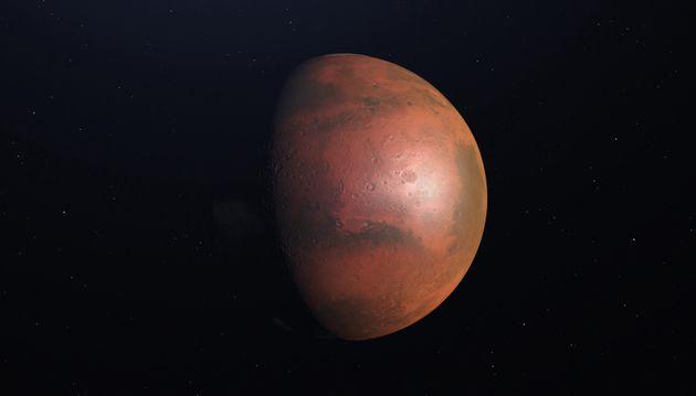 NASA는 '2030년대 중'에 유인 화성 탐사를 계획하고