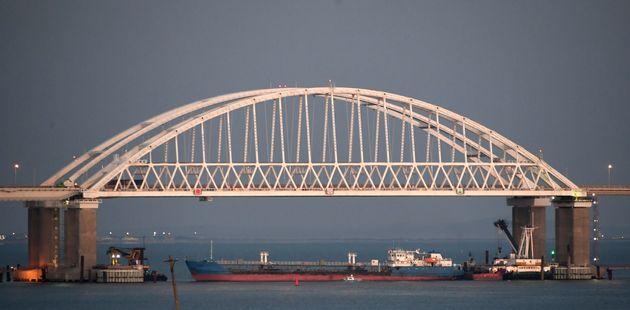러시아가 흑해에서 우크라이나 군함을