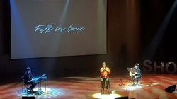 허각이 갑상선암 투병 후 처음으로 콘서트 무대에