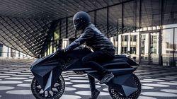 Η πρώτη ηλεκτροκίνητη μοτοσικλέτα από τρισδιάστατο
