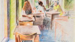 Η ατομική έκθεση ζωγραφικής του Νίκου Κυριακόπουλου στην Evripides Art