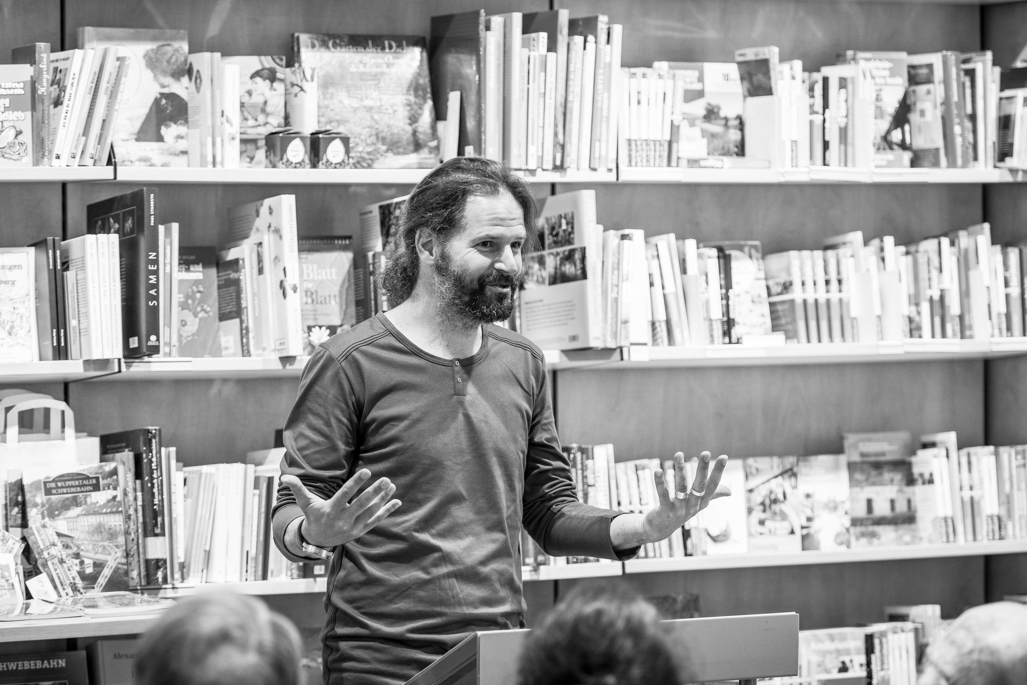 Lehrer und Autor Arne Ulbricht: