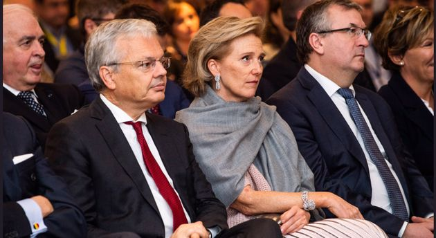 La princesse Astrid de Belgique en visite au Maroc dans le cadre d'une importante mission