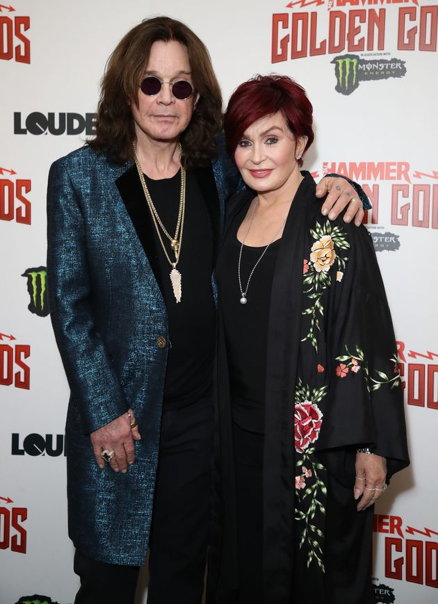 Ozzy and Sharon pictured earlier this
