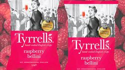 Who Thought Tyrrell's Raspberry Bellini Crisps Were A Good
