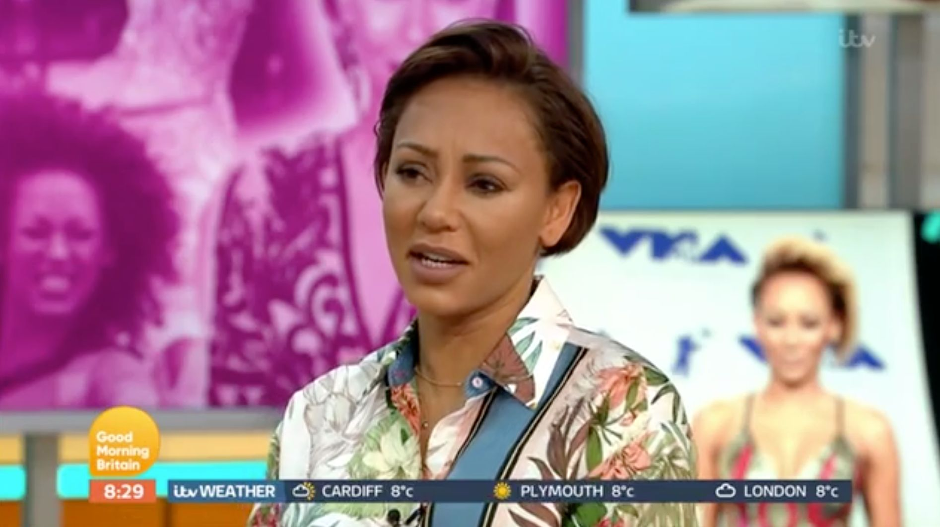 Mel B opens up about her life struggles