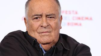 ROME, ITALY - OCTOBER 15:  Bernardo Bertolucci attends a photocall during the 11th Rome Film Festival at Auditorium Parco Della Musica on October 15, 2016 in Rome, Italy.  (Photo by Vittorio Zunino Celotto/Getty Images)