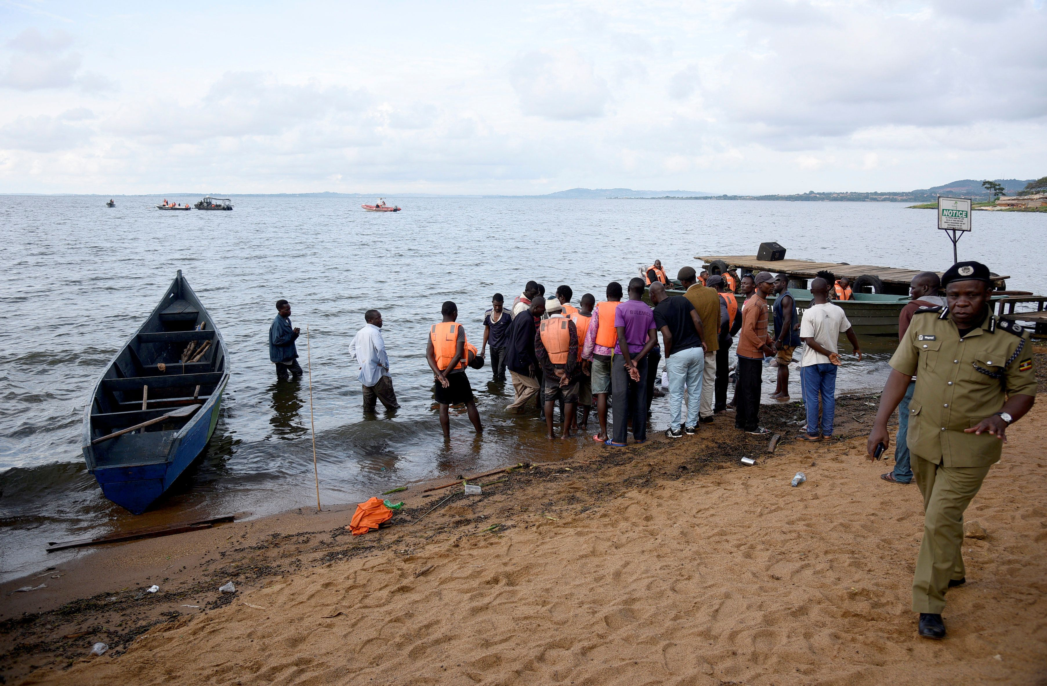 Uganda's Museveni says capsized cruise boat was overloaded, 29 dead