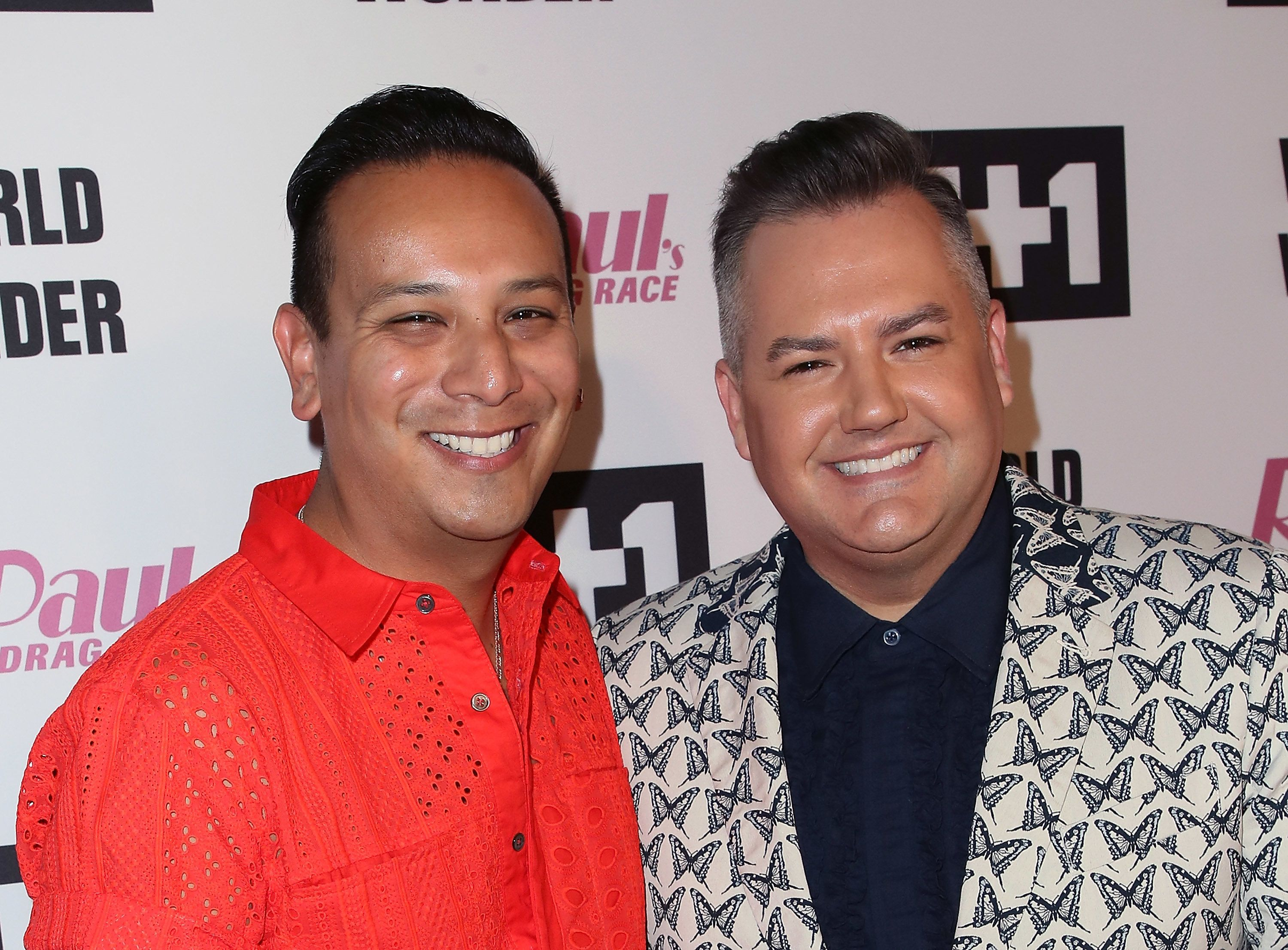 Ross Mathews (right) and Salvador Camarena had been dating since 2008.