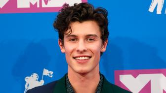 2018 MTV Video Music Awards - Arrivals - Radio City Music Hall, New York, U.S., August 20, 2018. - Shawn Mendes. REUTERS/Andrew Kelly
