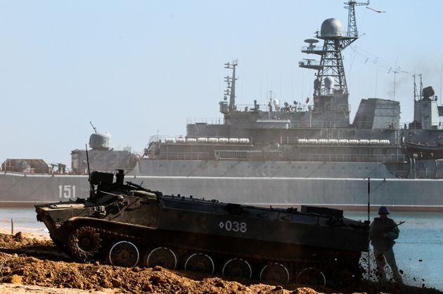 Η ισχύς των δυνάμεων του Πολεμικού Ναυτικού Ρωσίας και Ουκρανίας στη Μαύρη Θάλασσα