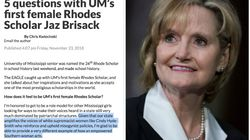 Sen. Cindy Hyde-Smith Is A 'White Supremacist,' Says Mississippi Rhodes