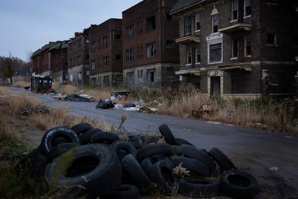 One of Cleveland's neighborhoods that Evergreen Cooperative Corp. aims to help
