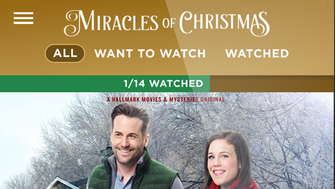 Hallmark has released an app to help TV viewers keep track of the holiday movies they want to watch.