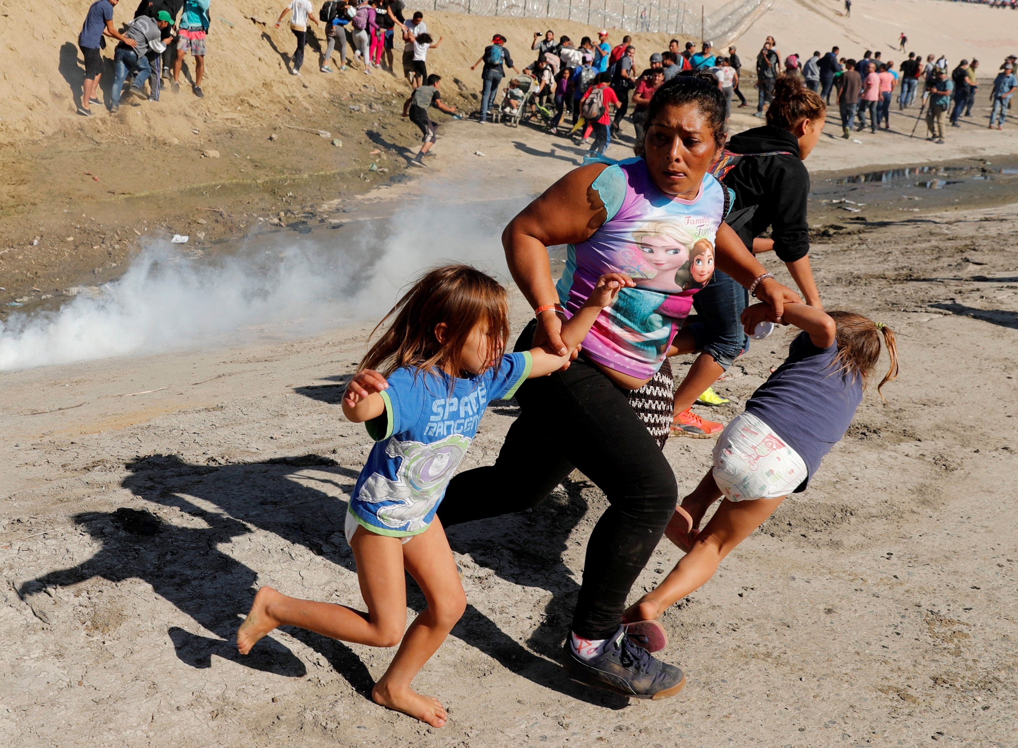 Christians Decry Trump Administration After Children Are Tear-Gassed At