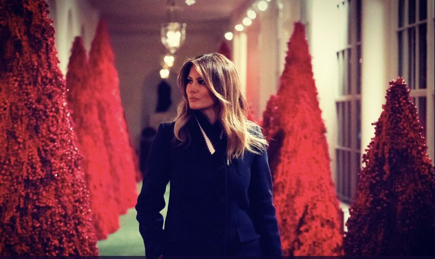 Melania Trump White House Christmas