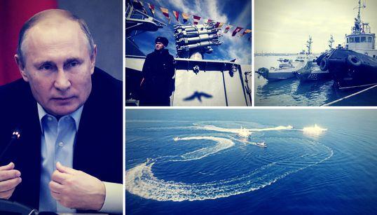 Krim-Eskalation: Wie Russlands Präsident Wladimir Putin versucht, den Westen