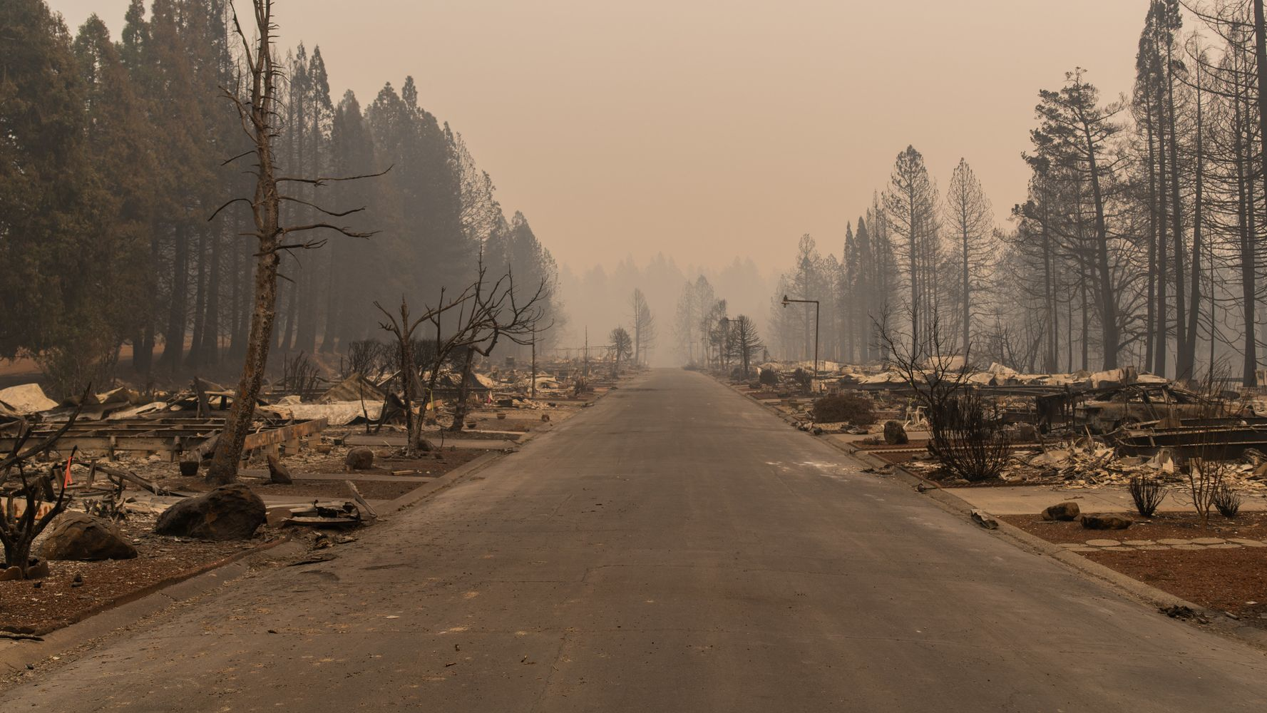 3 Weeks After The Fire, One Paradise Property Owner Is Still