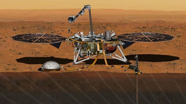 NASA's InSight Lander Just Sent This Picture From The Surface Of