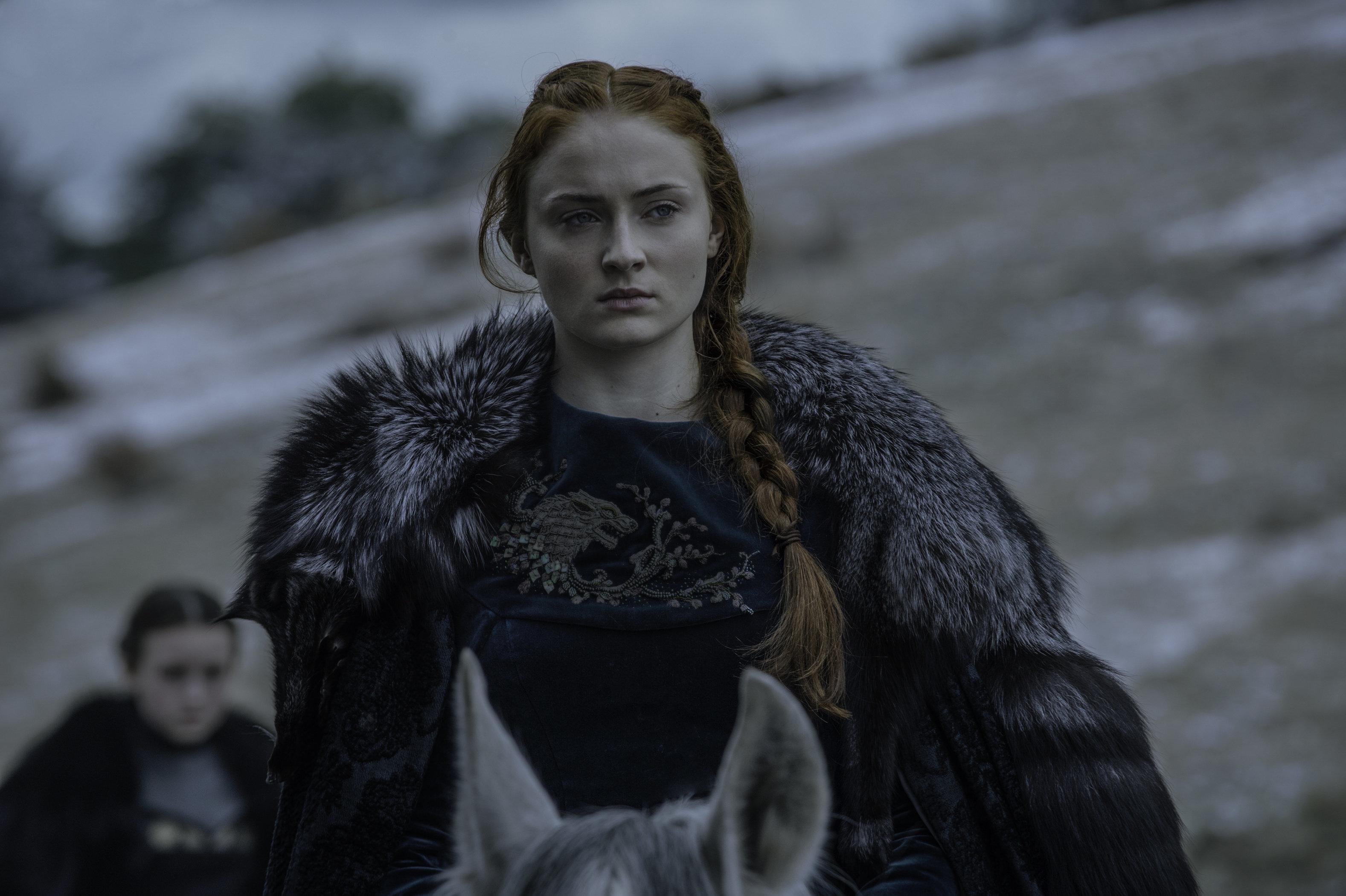 Sansa Stark is not here to