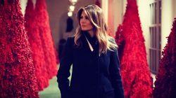 Melania Trump präsentiert Weihnachts-Deko –Zuschauer gruseln sich