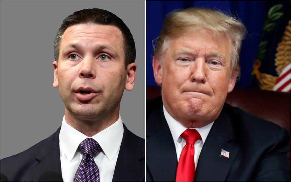 McAleenan and Trump