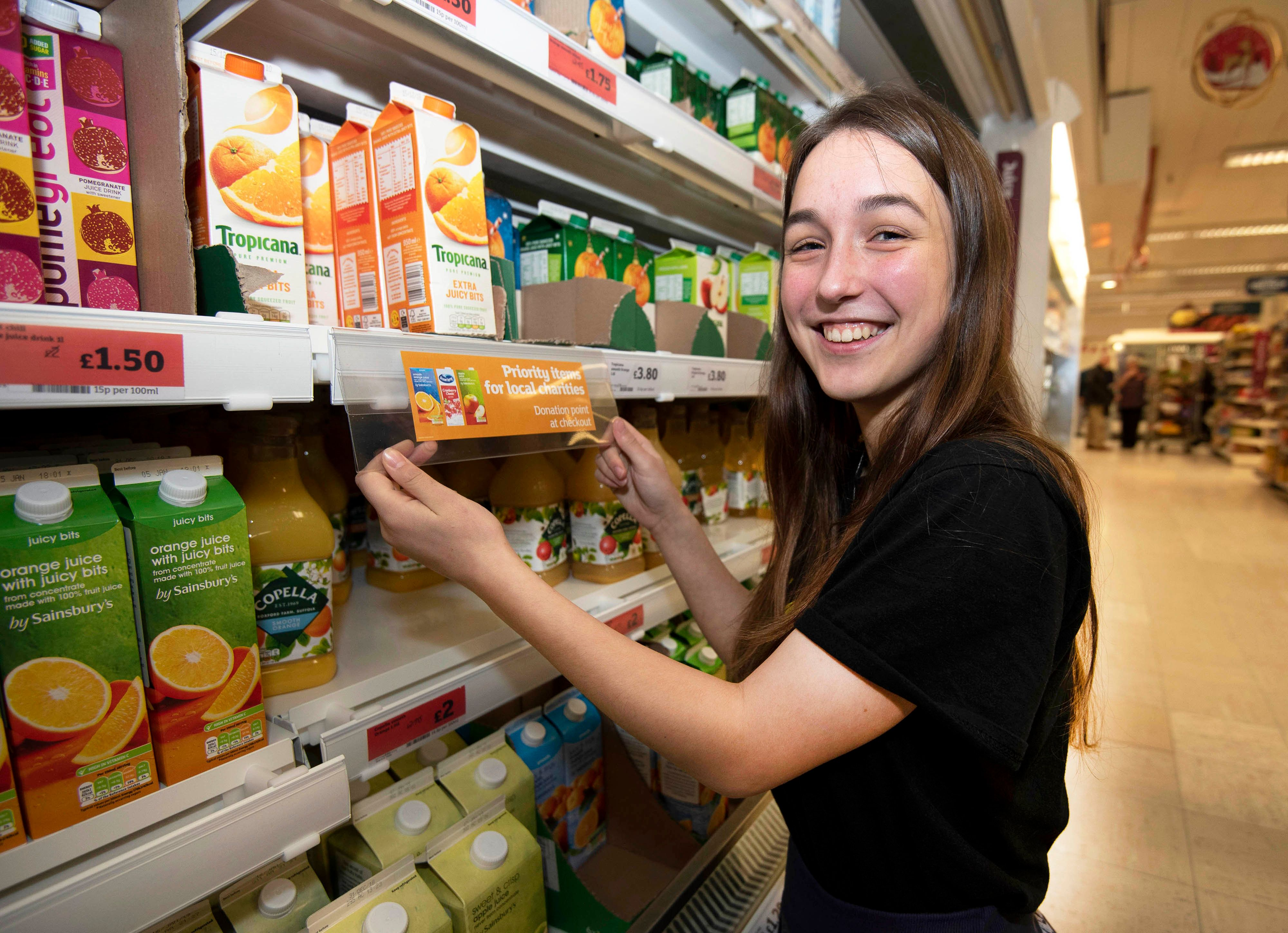 Sainsbury's Labels Signposting 'Foodbank-Friendly' Items To Be Rolled Out Across