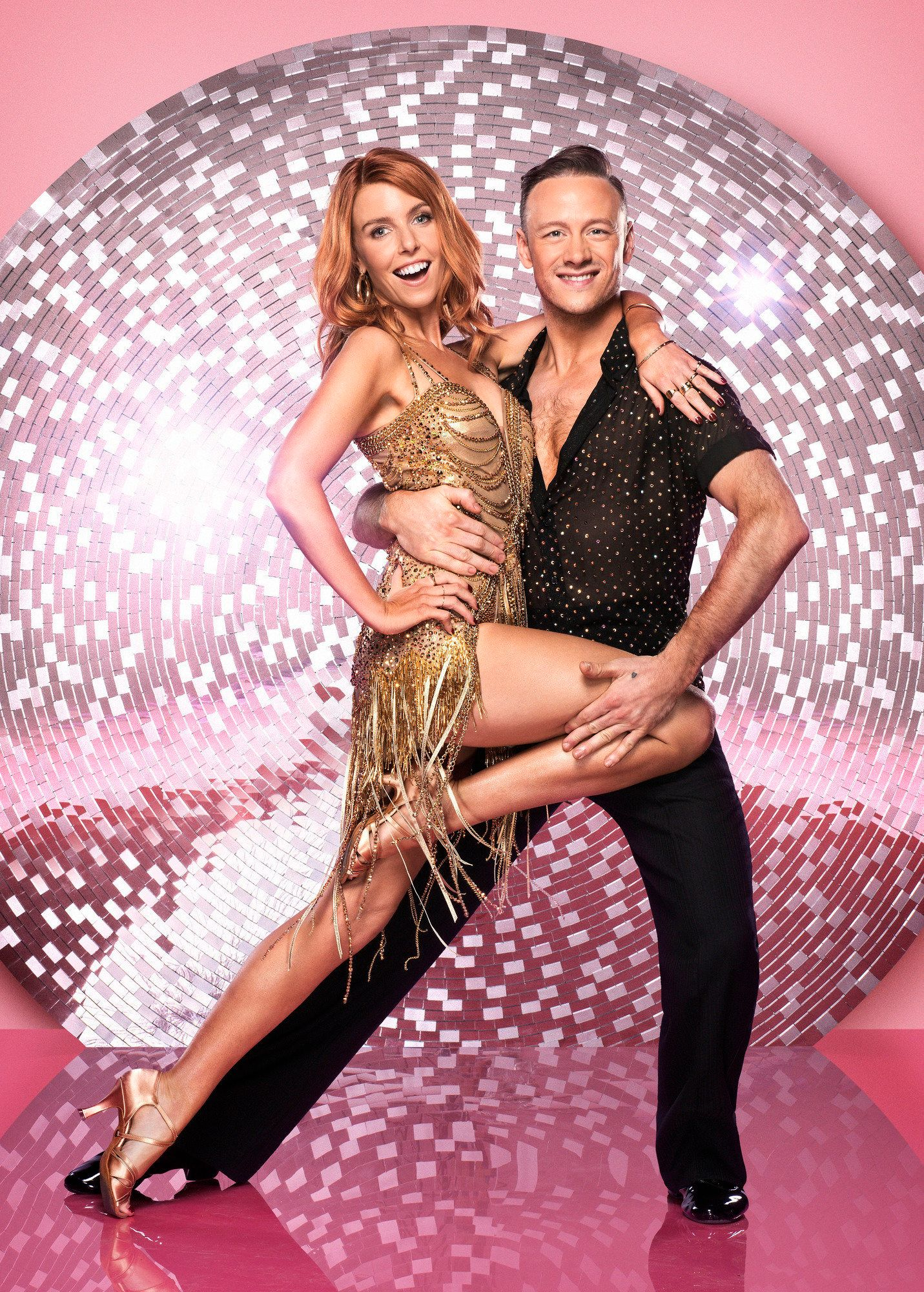 Stacey Dooley with Strictly partner Kevin