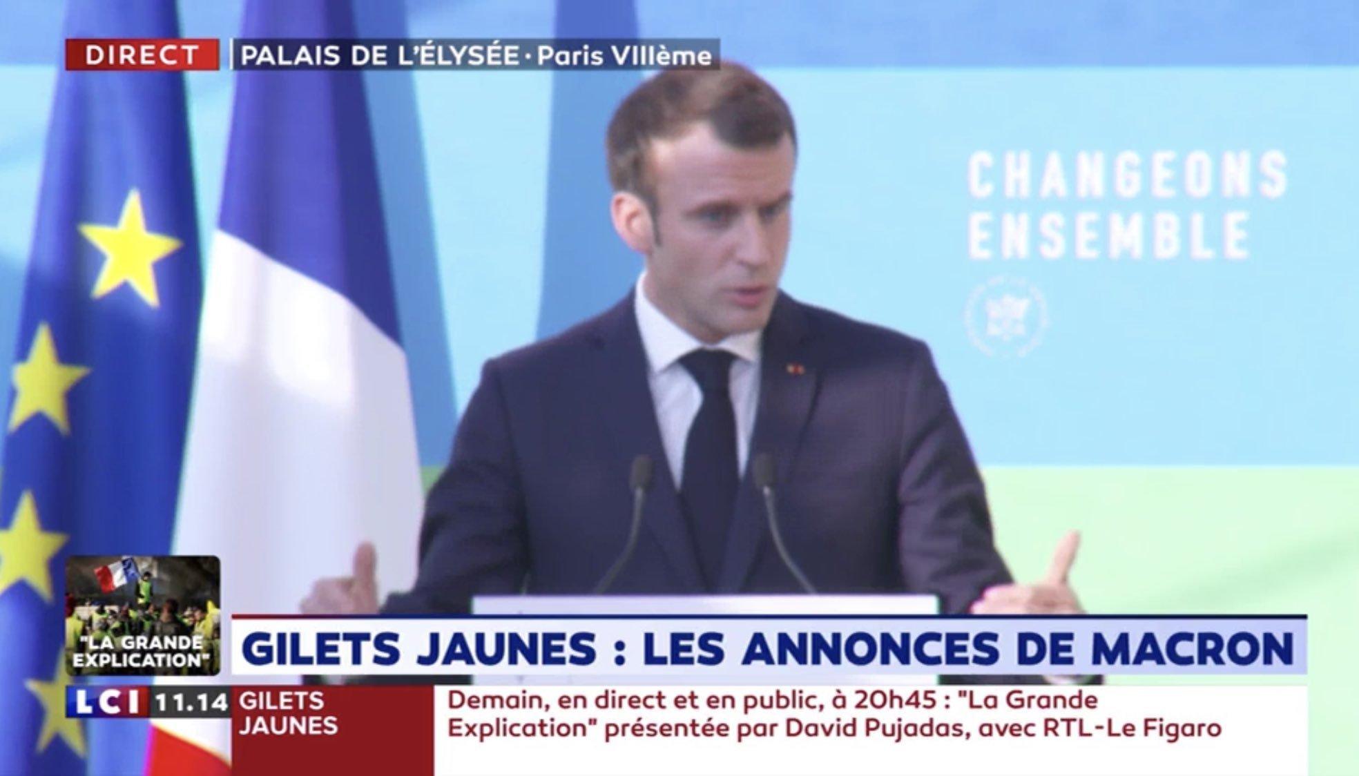 L'image de Macron était floue et ça a inspiré les