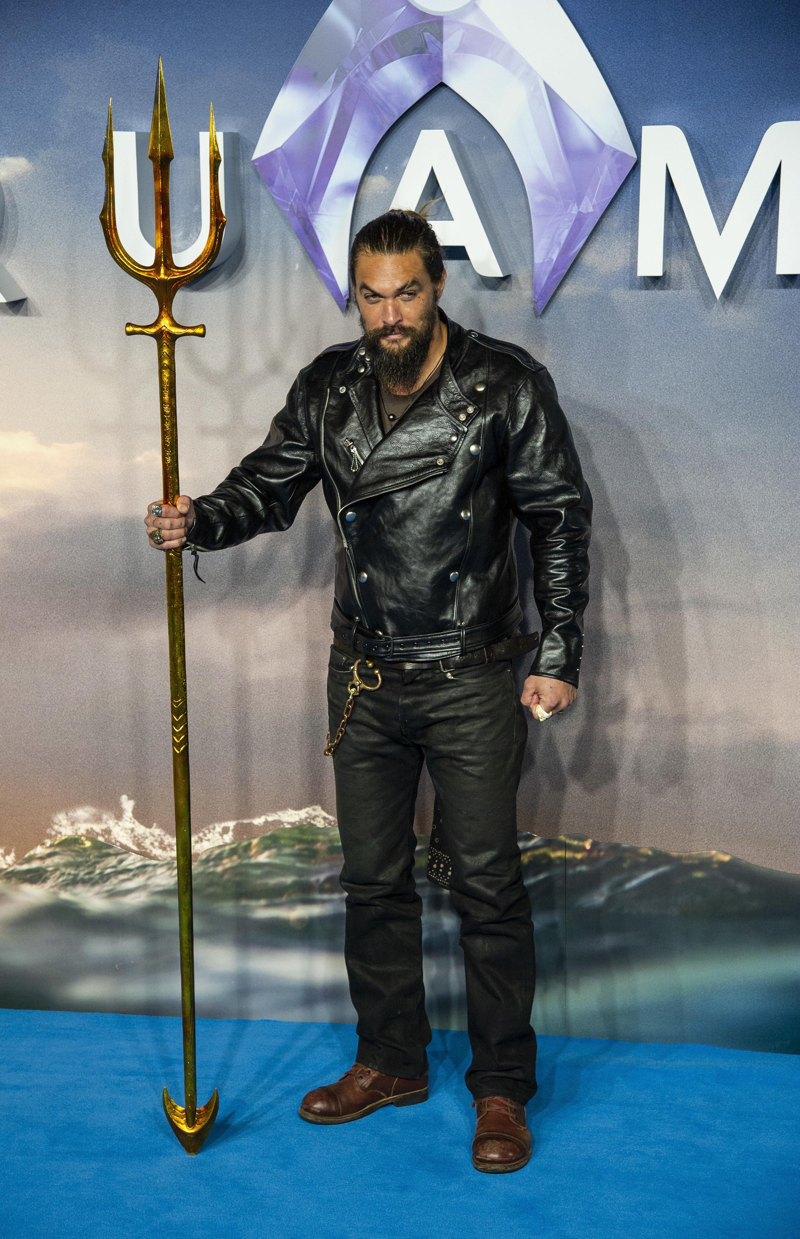 Stars Walk Blue Carpet For DC's 'Aquaman' Premiere In